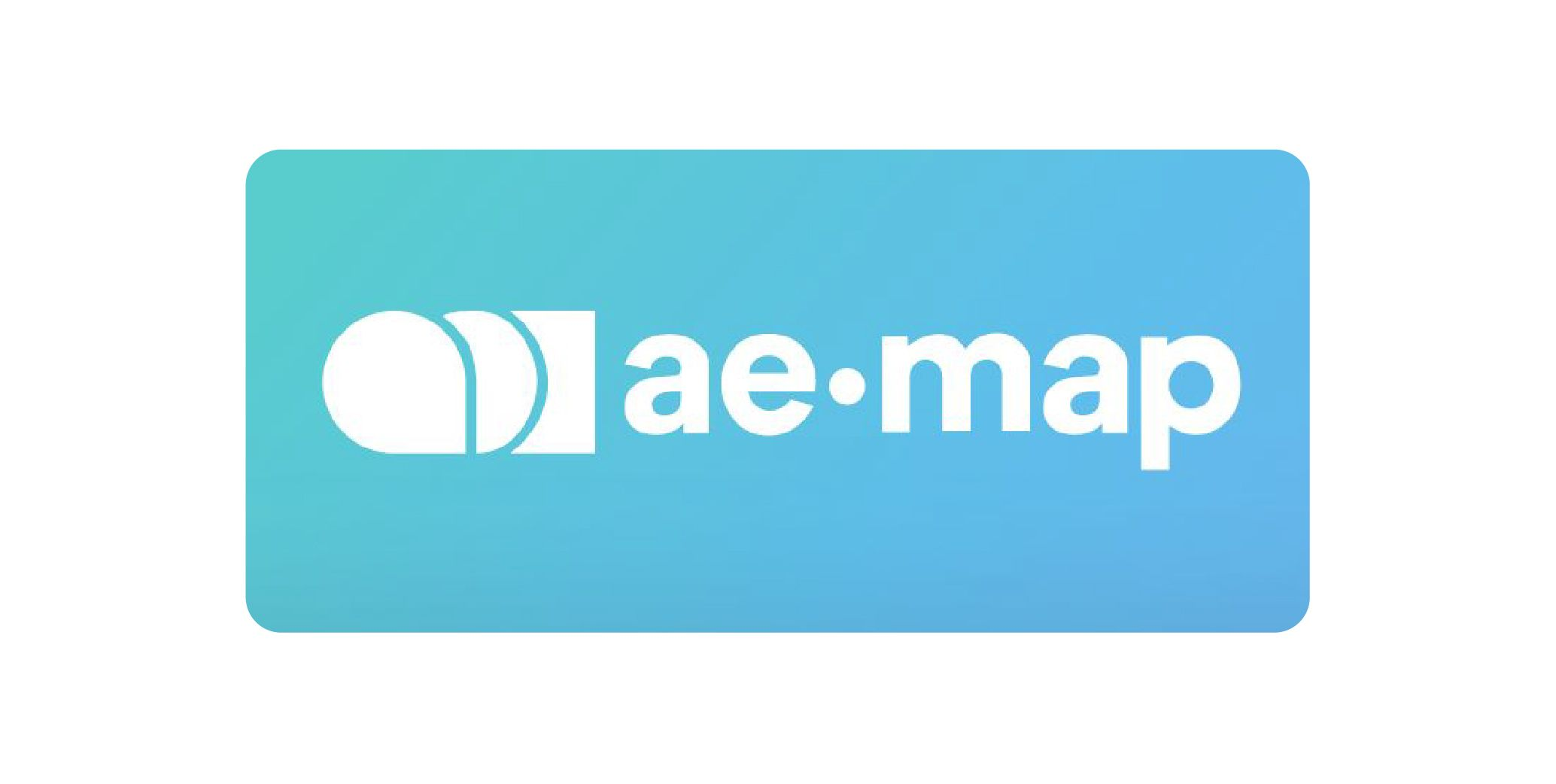 Start up logo ae map