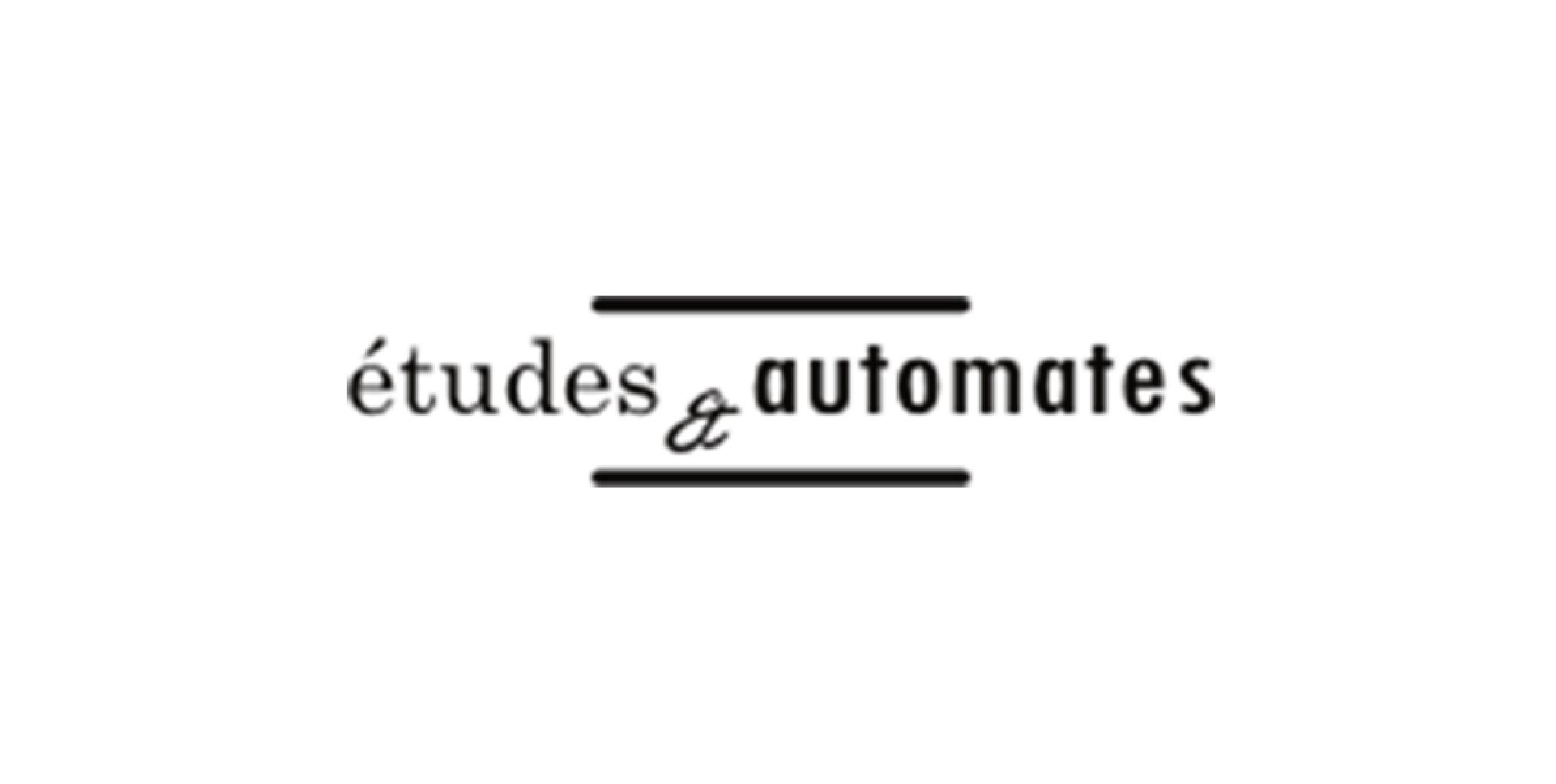 Start up logo etudes&automates