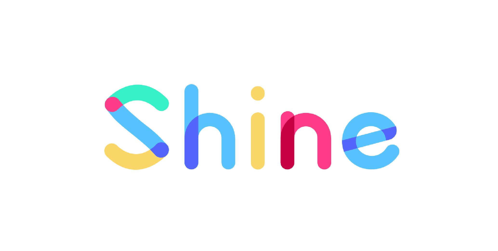 Start up logo shine